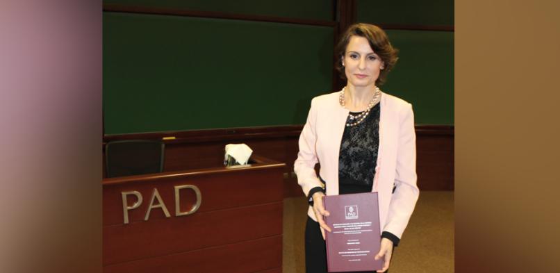 Primera tesis doctoral defendida en el PAD